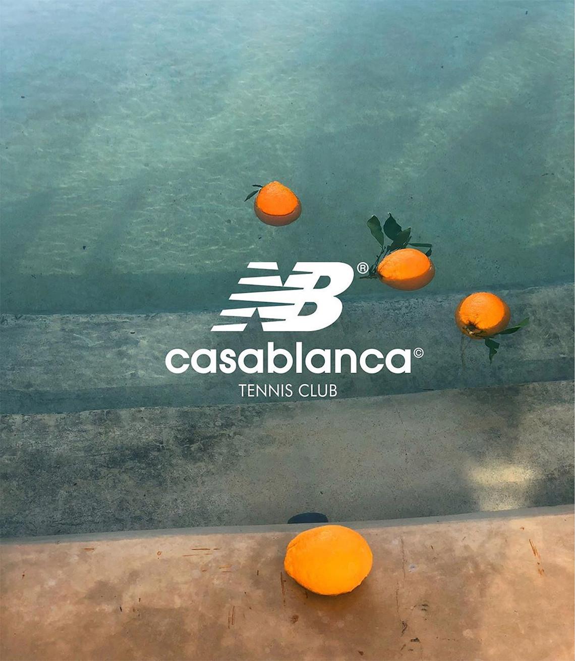Casablanca x New Balance 327